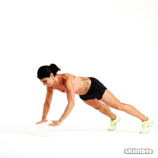 How to do: Clapping Push-Ups - Step 3