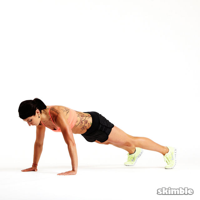 How to do: Clapping Push-Ups - Step 4