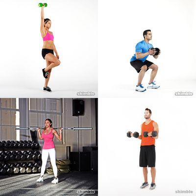 Full Body Weights Bar