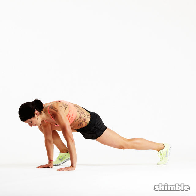How to do: Explosive Mountain Climbers - Step 1