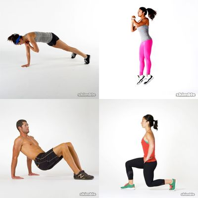 Body Weight Travel Workout