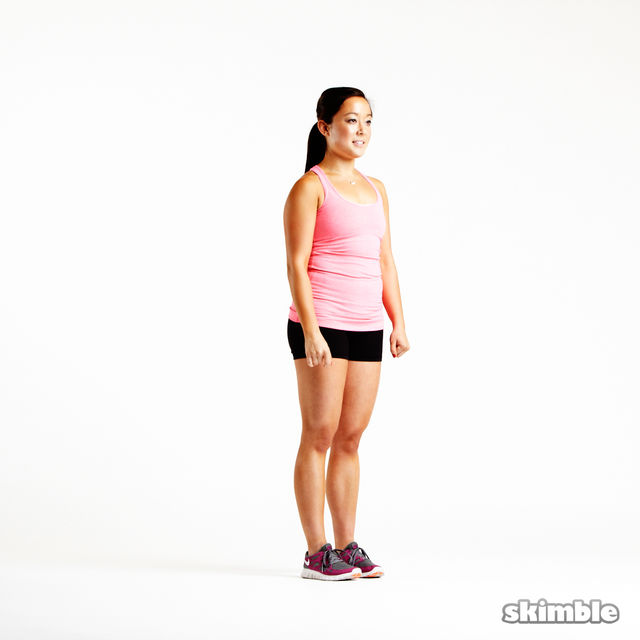 How to do: Reverse Lunges - Step 4