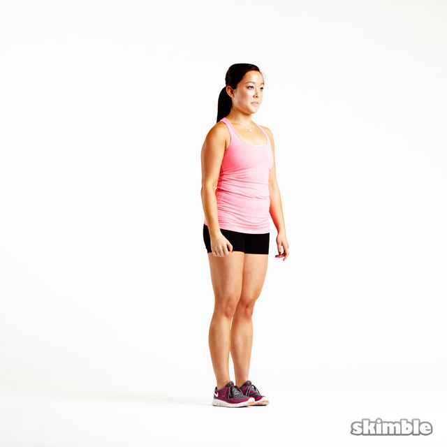 How to do: Reverse Lunges - Step 2