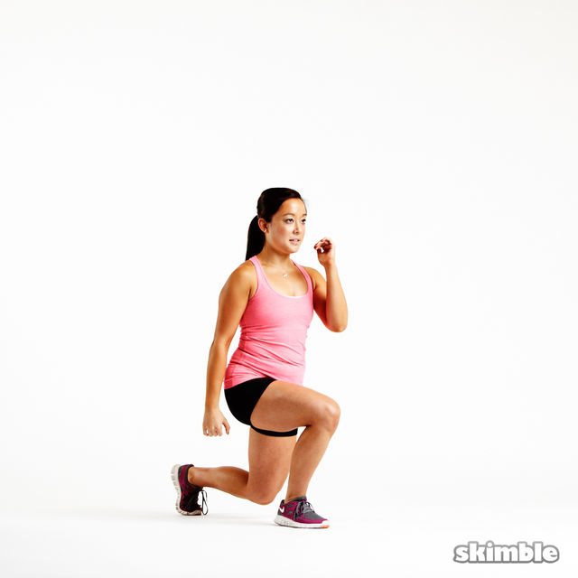 How to do: Reverse Lunges - Step 3