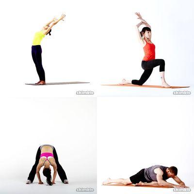 stretches/warmups/yoga
