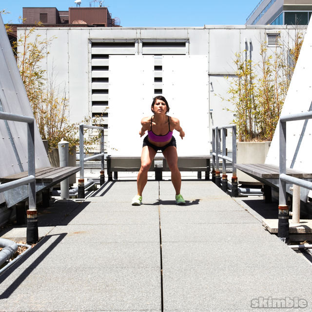 How to do: Traveling Squat Hops - Step 5