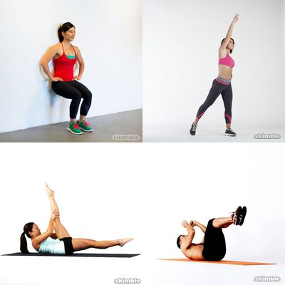 Novice/Beginner workouts & stretches
