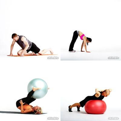 Workout 8 (Ball - 36 Min)