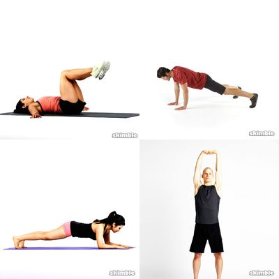 Workout for back
