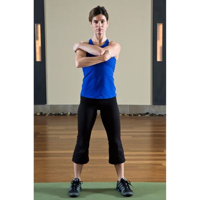 8 Shoulder Stretches with Torso Rotation