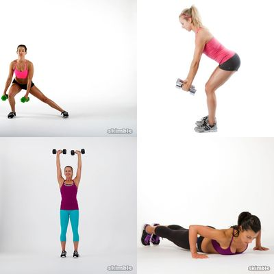Gym Workouts - Weights