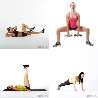 Lise's workouts