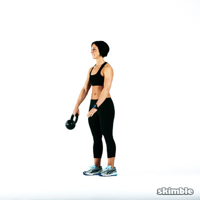 Kettlebell body sculpt