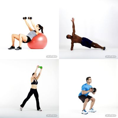 build, upper body and core