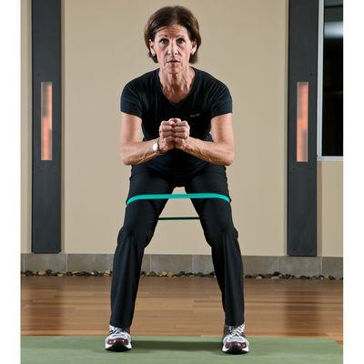 10 Traveling Side Squats