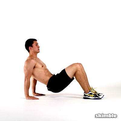 Tricep Dips In Parallels