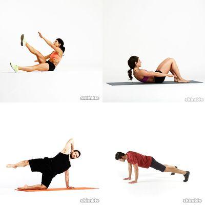 Workouts-Core/Cardio