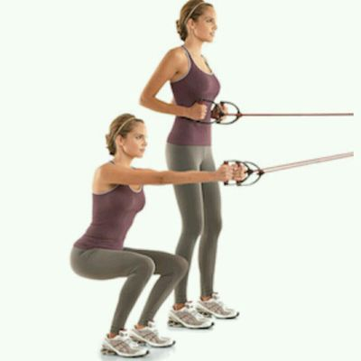 Squatted Rows