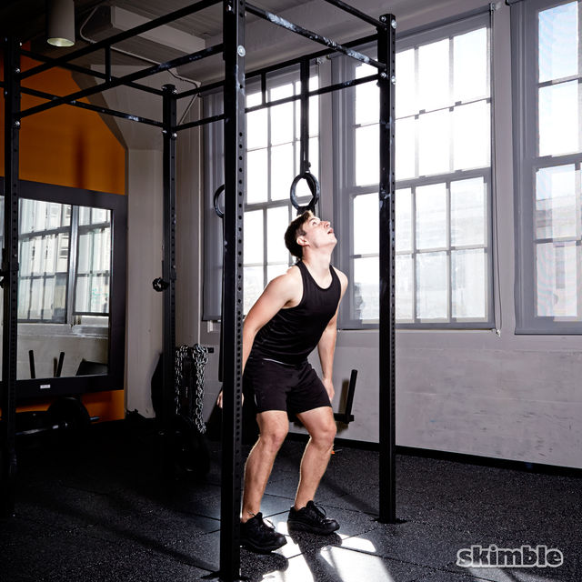 How to do: Burpee Pull-Ups - Step 5