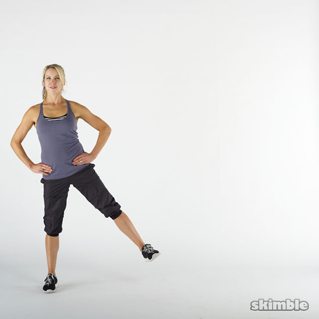 How to do: Side Lunges - Step 9