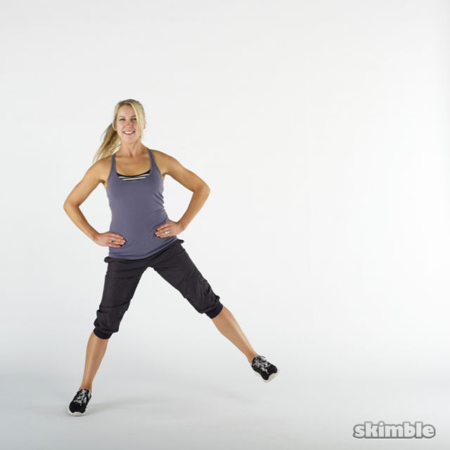 How to do: Side Lunges - Step 7