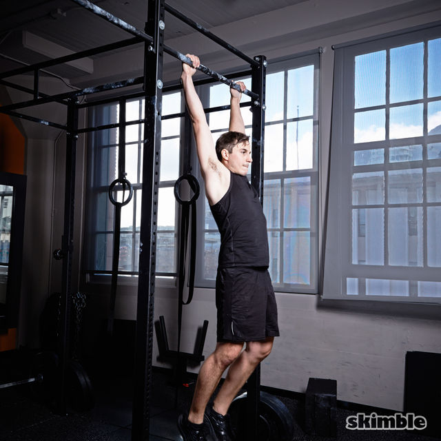 How to do: Kipping Pull-Ups - Step 1