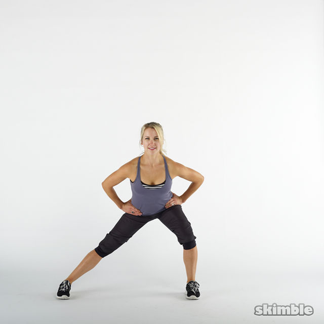 How to do: Side Lunges - Step 8