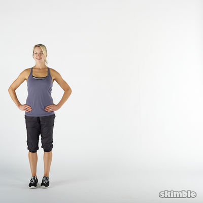 Left Side Lunge Stretch
