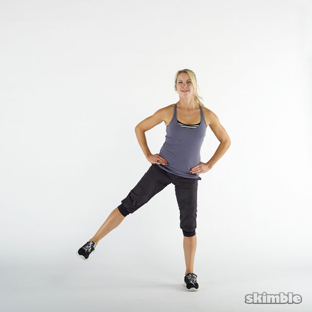 How to do: Side Lunges - Step 4