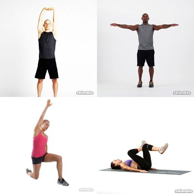 Warmup & Stretches