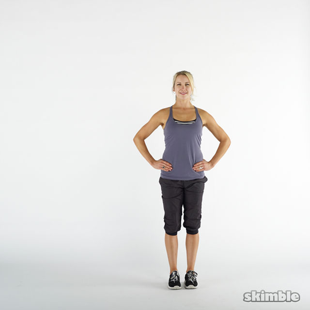 How to do: Side Lunges - Step 1