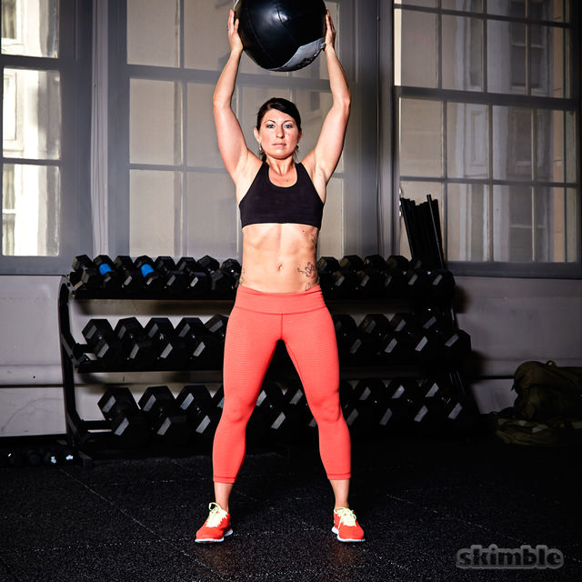 How to do: Medicine Ball Slams - Step 2