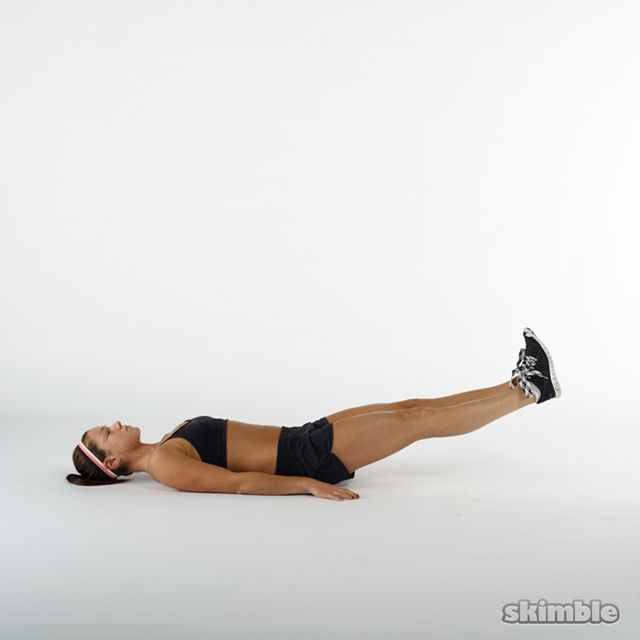 How to do: Leg Lifts - Step 2