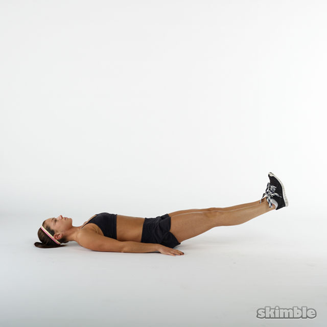 How to do: Leg Lifts - Step 4