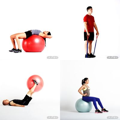 Stability Ball and Bands