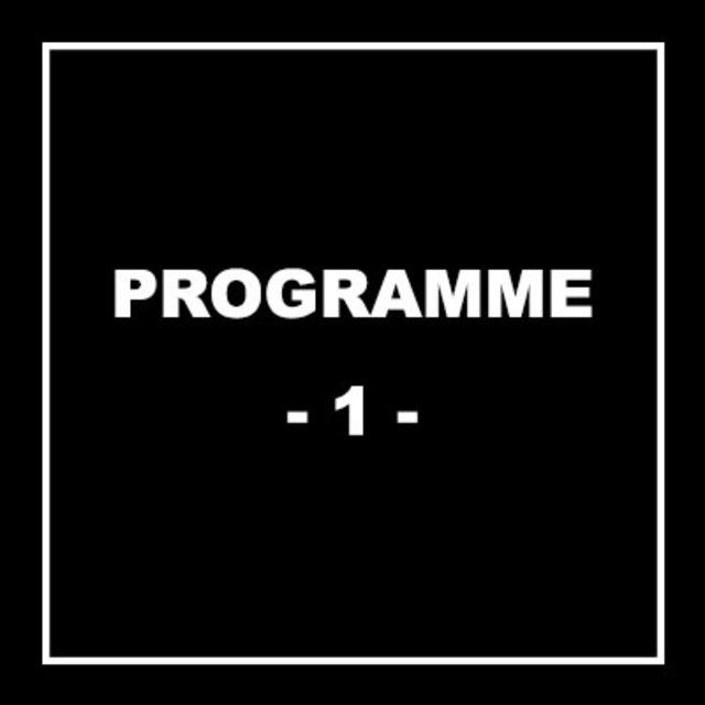 Programme N°1