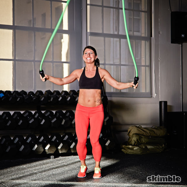 5 Rounds Of 1 Minute Jump Rope