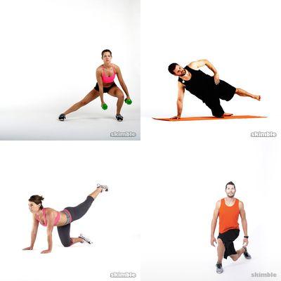 Butt & thigh workout