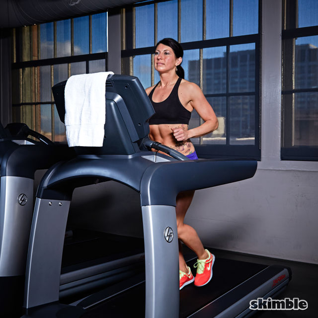 How to do: Treadmill Moderate Jog - Step 5
