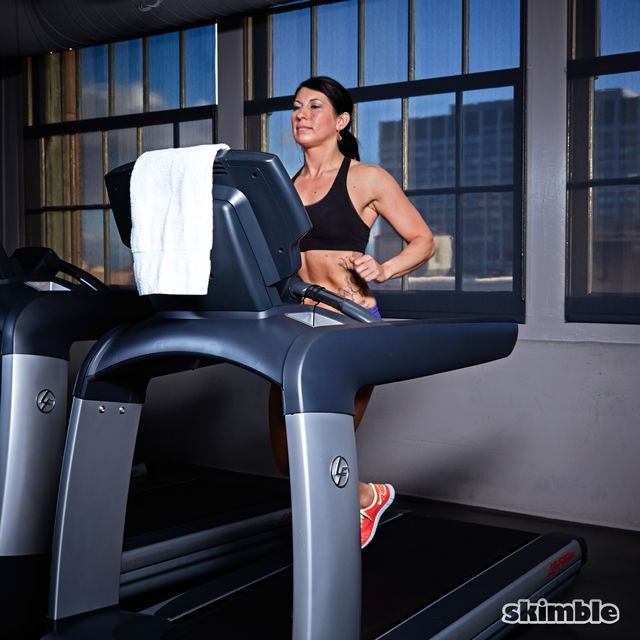 How to do: Treadmill Moderate Jog - Step 4