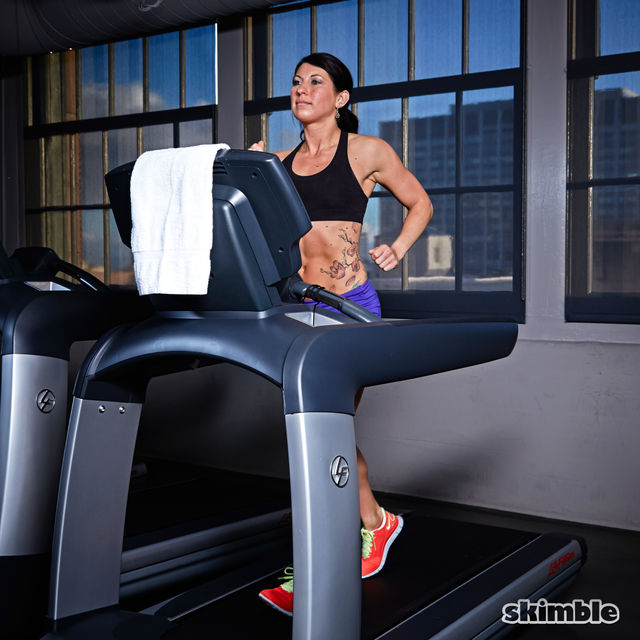 How to do: Treadmill Moderate Jog - Step 3