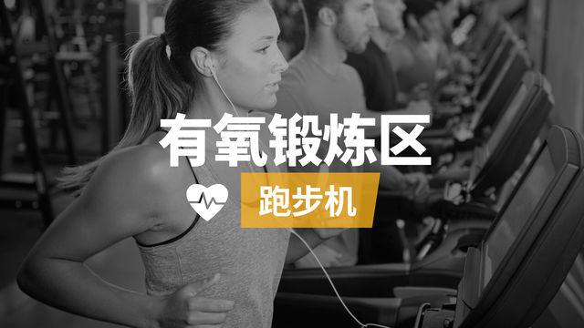 有氧运动区:跑步机