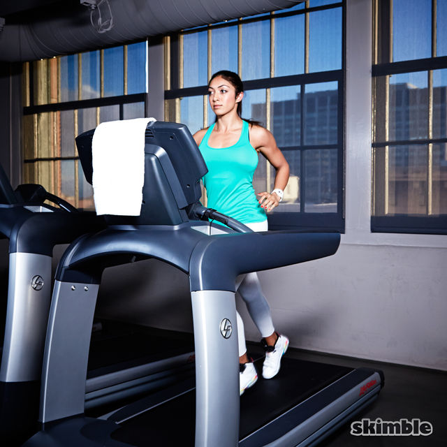 How to do: Treadmill Running - Step 3