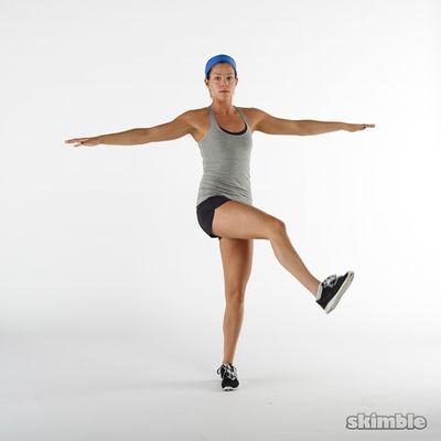 estiramientos piernas simple