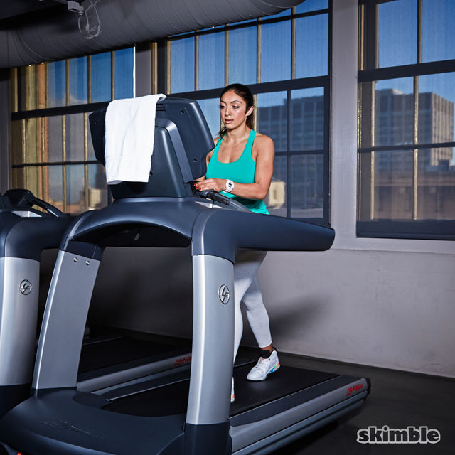 How to do: Incline Walk on Treadmill - Step 6