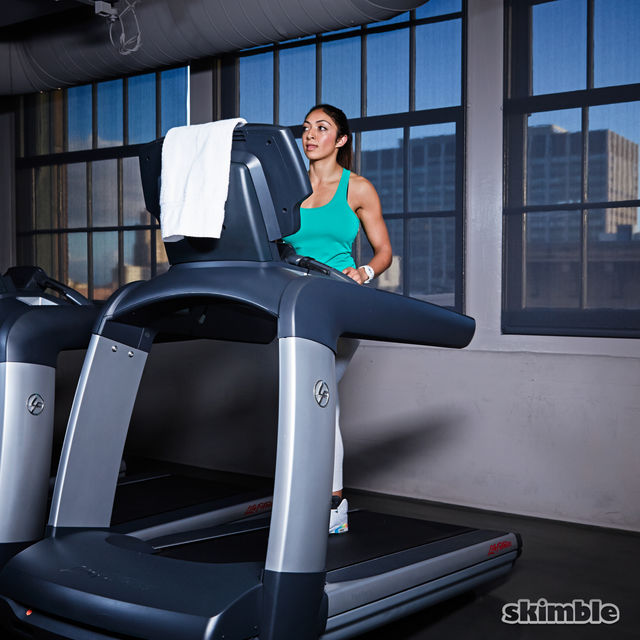 How to do: Incline Walk on Treadmill - Step 1