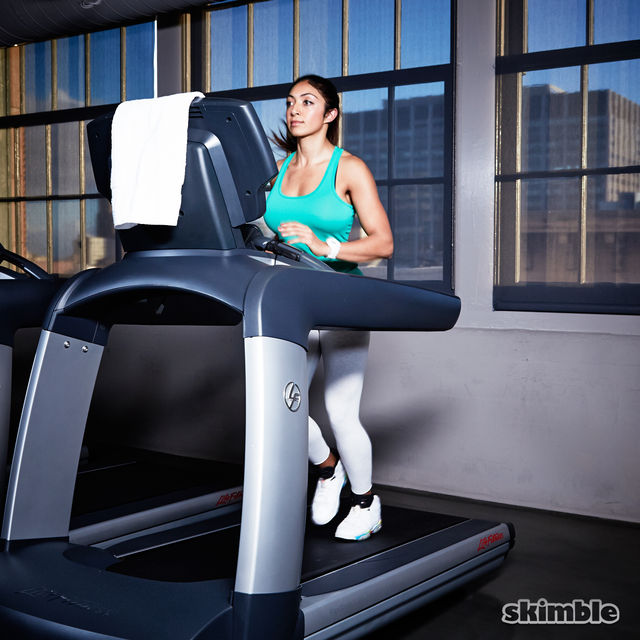 How to do: Incline Jog on Treadmill - Step 3