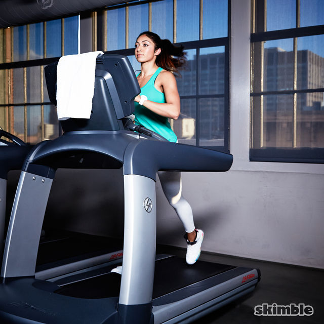 How to do: Incline Jog on Treadmill - Step 2