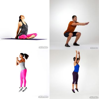 HIIT and Stretches