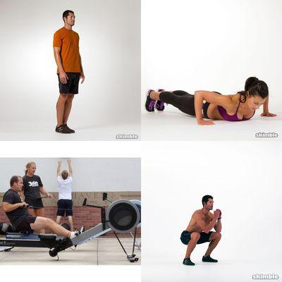 45 Min, Intense, Full Gym